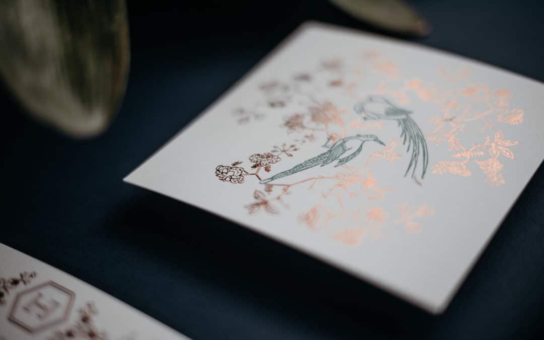 Un mariage aux inspirations tropicales et minimalistes à l'Espace Nobuyoshi